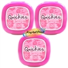 3x Quickies Nail Varnish Remover Wipes 20 Polish Removal Pads STANDARD SIZE