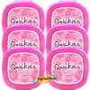 6x Quickies Nail Varnish Remover Wipes 20 Polish Removal Pads STANDARD SIZE