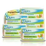 5x Quies mousse confort FOAM  Ear Plugs - 3 Pairs