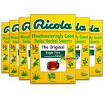 6x Ricola The Original Swiss Herbal Sweets Sugar Free 45g