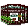6x Ricola Luxurious Liquorice Swiss Herbal Drops Lozenges Sweets Sugar Free 45g