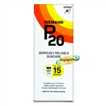 Riemann P20 SPF15 Water Resistant Sun Protection 200ml Sunscreen Sunblock UVA UVB