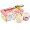 Patisserie De Bain Strawberry & Lemon Meringue Bath Fizzer Soak Bomb Tartlettes