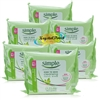 6x Simple Kind To Skin Cleansing Facial Wipes Vitamin Goodness