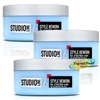 3x Loreal Studio Line Style Rework Out Of Bed Fibre Cream 150ml