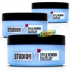 3x Loreal Studio Line Style Rework FX Remix Fibre Putty150ml Pot