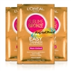 3x L'Oreal Sublime Bronze Easy Non Tinted Self Tanning Body & Face Wipes 2x5,6ml