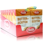 14xSula Butter-Scotch Natural Sugar Free Boiled Sweets 42g