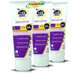 3x SunSense Sensitive SPF50+ Cream 100g