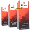 3x Tabac Eau De Toilette Natural Spray 50ml