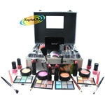 Technic Professional Beauty Box Cosmetic Colour Case Make Up Vanity Xmas Gift Set 47 pcs