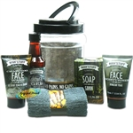 Technic Man'Stuff Mini Man Can 6pc Bath & Body Toiletry Xmas Gift Set For Him