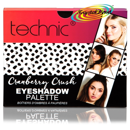 Technic Eyeshadow Palette Cranberry Crush