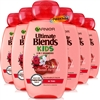 6x Garnier Ultimate Blends Kids Cherry & Sweet Almond 2 In 1 Shampoo 250ml