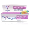 Vagisil Medicated Creme Relief Cool From Intimate Itching Burning Irritation 30g