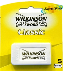 Wilkinson Sword Yellow Card Classic Double Edge Blades 5