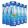 6x Wisdom Denturebrush Denture Toothbrush Tooth Brush False Artificial Teeth