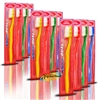 12x Wisdom Dual Texture Manual Plaque Remover Toothbrush Stimulate Gums