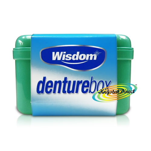Wisdom Denture Box Storing Dental Tooth False Teeth Storage Case