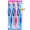 3x Wisdom Ortho Clean Toothbrush - SOFT