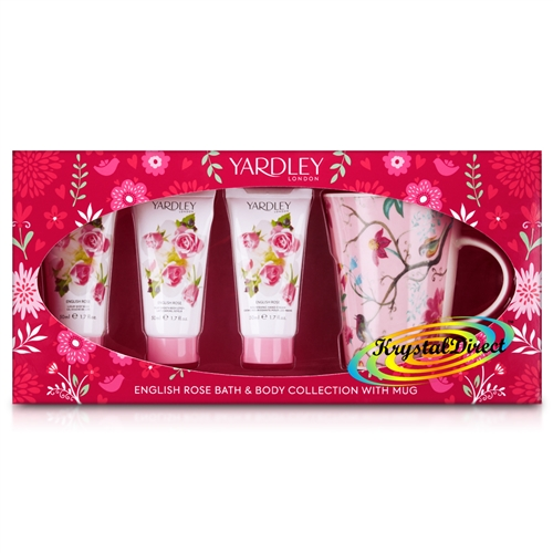 Yardley Bath & Body Collection With Mug