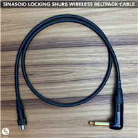 Sinasoid Shure Locking Wireless Beltpack Cable
