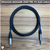 Sinasoid Mogami 2549 TRS to XLR Male Cable 1FT+