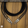 Sinasoid Instrument + Headphone Extension Loom