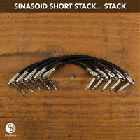 Sinasoid Short Stack Pancake Patch Cable Bundle
