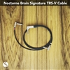 The Nocturne Brain Signature TRS-V Cable