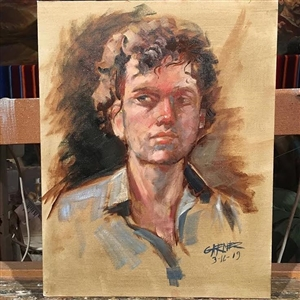 Portrait Painting with Tom Garner Image