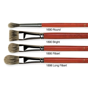 Da Vinci Pure Badger Oil Brushes Image