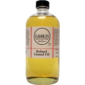 Gamblin Refined Linseed Oil Image