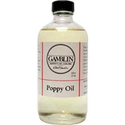 Gamblin Poppy Oil 8 OZ Image