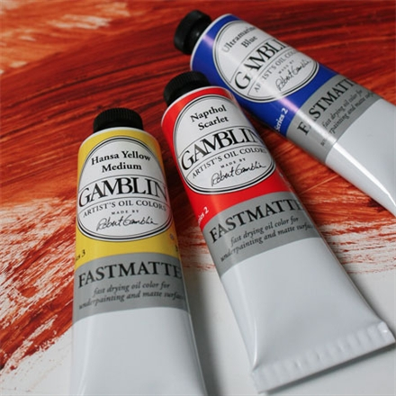 Image result for gamblin fastmatte oil paints