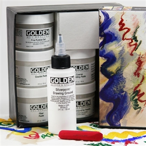 Golden Gel & Molding Paste Introductory Set Image