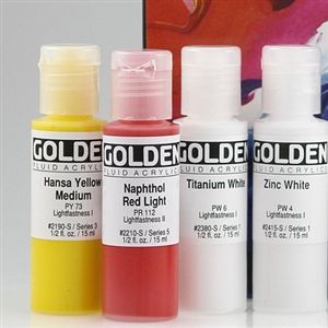 Golden Fluid Sets Image