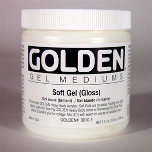 Golden Acrylic Regular Gel Mediums Image