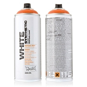 Montana White Synthetic Spray Paint Image