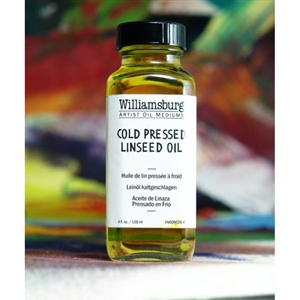 Williamsburg Cold Pressed Linseed Oil Image