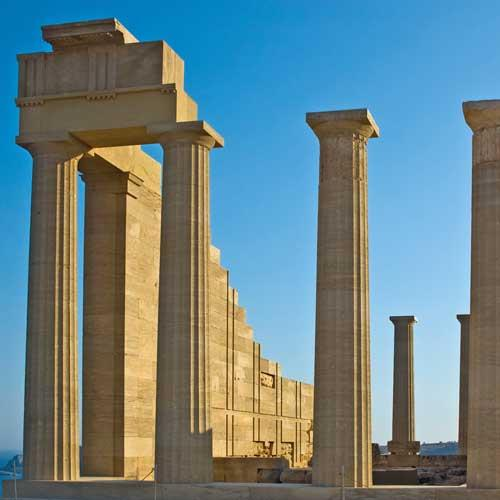 Rhodes Cruise Tours - The Acropolis of Lindos