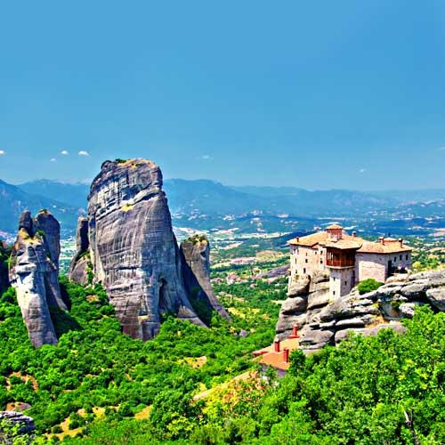 Volos Shore Excursion - Monasteries of Meteora