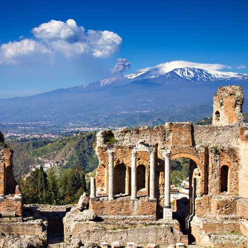 Catania Shore Excursions - Taormina and Catania