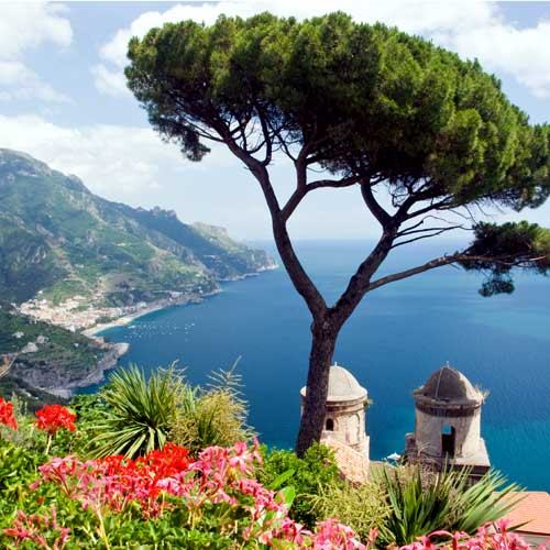 Salerno Cruise Tours - Pompeii and the Amalfi Coast