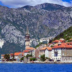 Kotor Shore Excursions - Kotor, Perast and Our Lady of the Rocks