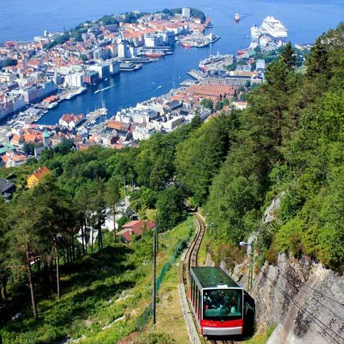 Bergen Cruise Tours - The Perfect View of Bergen