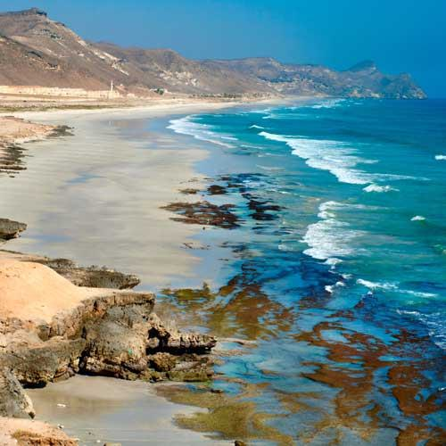 Salalah Shore Excursions - Mughsayl Beach and Jobs Tomb