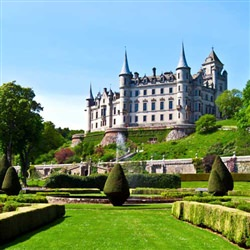 Invergordon Cruise Tours - Dunrobin Castle and Dalmore Distillery