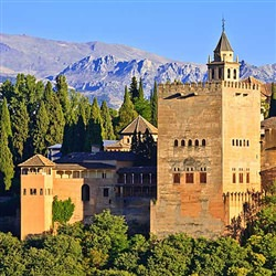 Malaga Shore Trips - Granada and the Alhambra