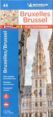 Brussels Belgium Travel & Road Map. Discover Brussels by foot, car or bike using Michelin Brussels City Plan (scale 1:17,500). In addition to Michelin's clear and accurate mapping, this city plan will help you explore and navigate across Brussels differen